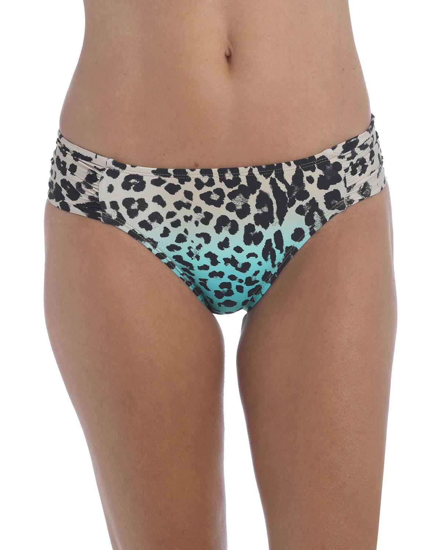 Dip Wild Shirred Bikini Bottoms