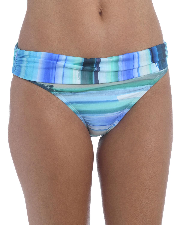 Ocean Tides Hipster Bikini Bottoms