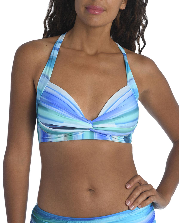 Ocean Tides Crossback Bikini Top