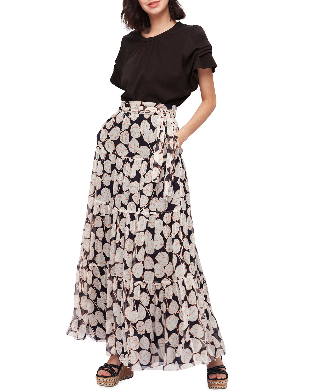 Lilian Tiered Maxi Skirt