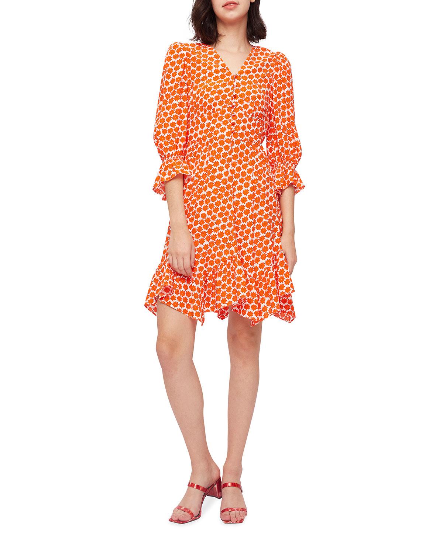 Sydney Printed Mini Dress