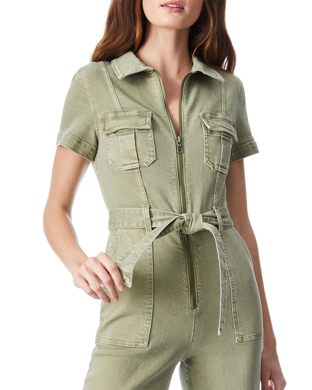 Gorgeous Wide-Leg Jumpsuit w/ Cargo Pockets