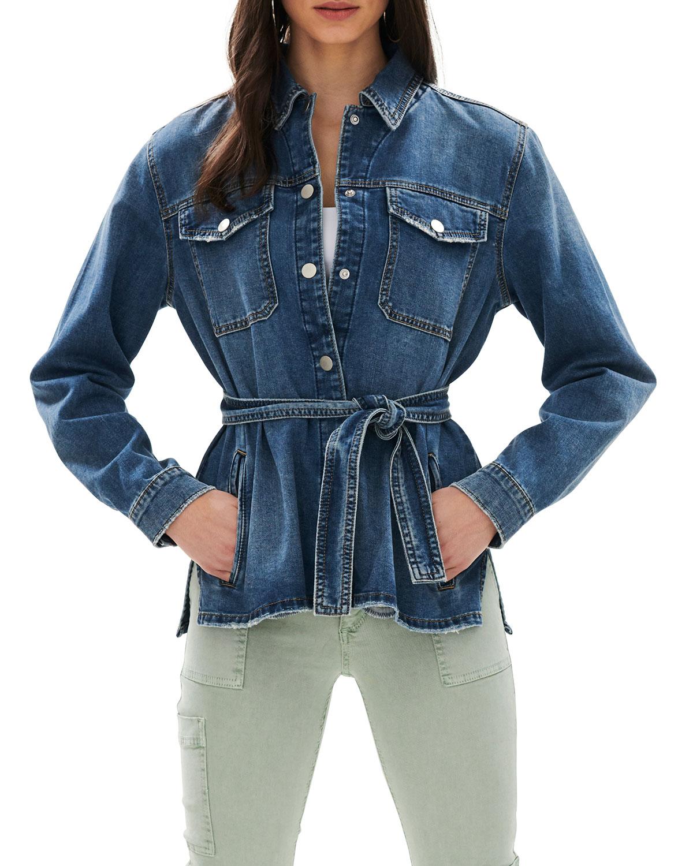 Ella Denim Shirt Jacket