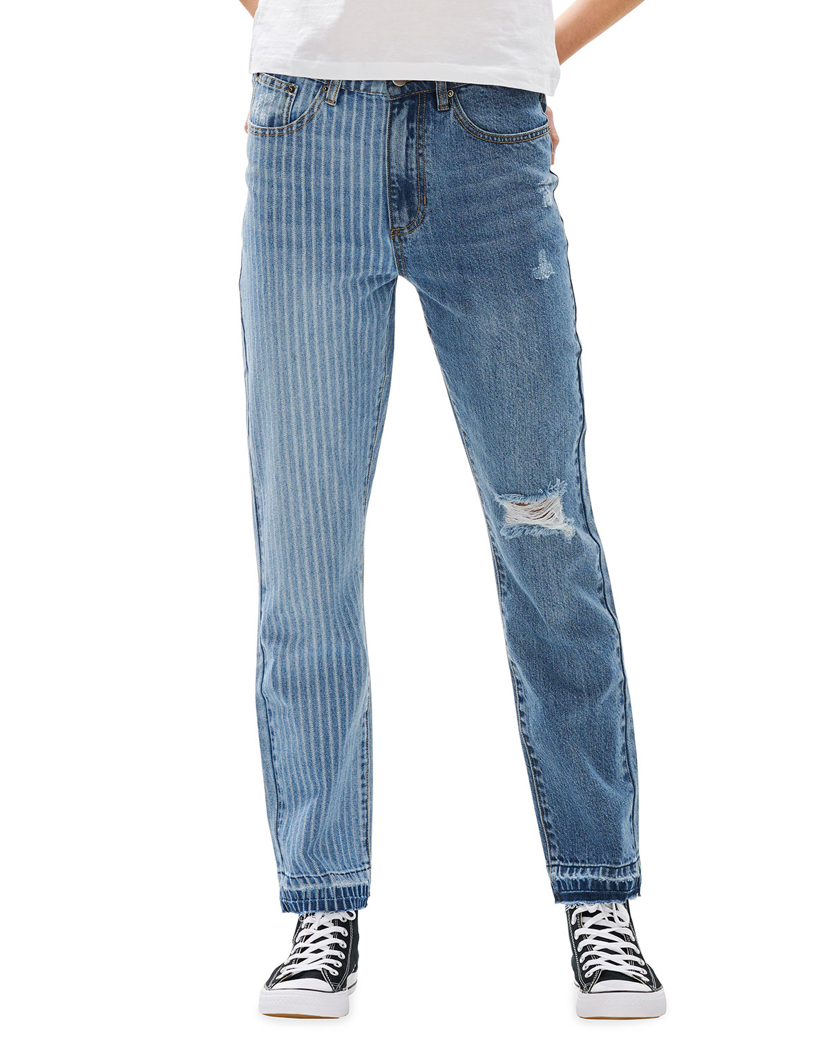 Piper On The Railroad Straight Jeans