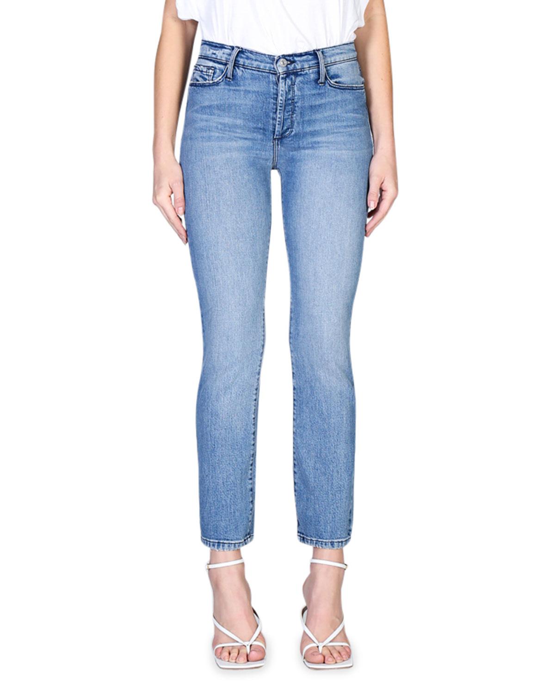 Joan High-Waisted Straight-Leg Jeans