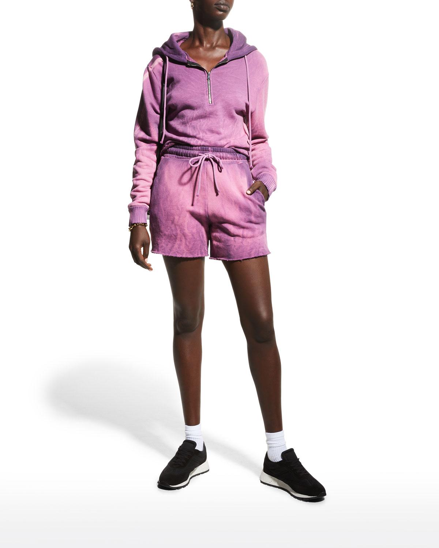 The Brooklyn Crop Zip Pullover