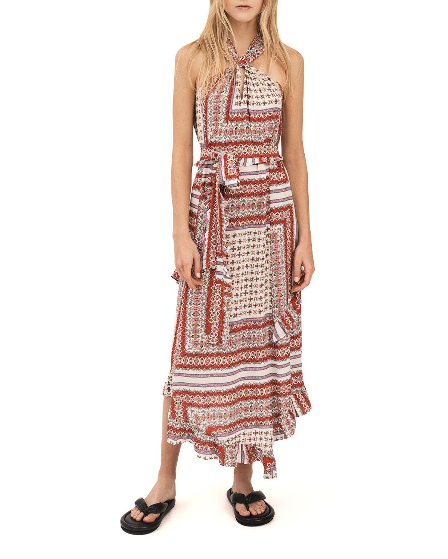 Dasha Asymmetric Halter Dress
