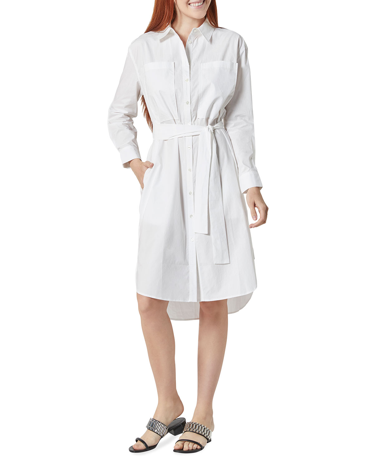 Daines Belted Shirtdress