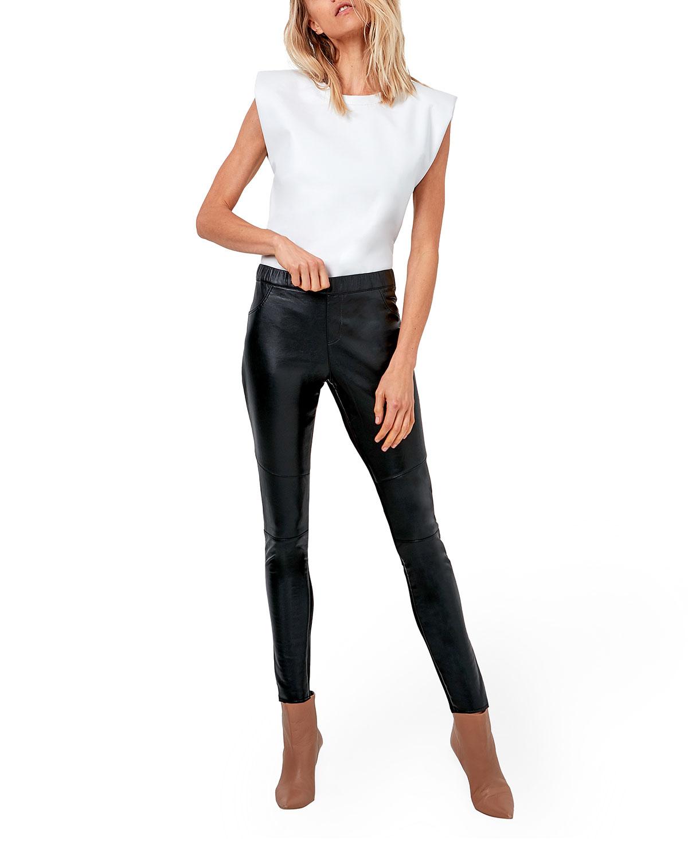 Kiki Stretch Leather Legging