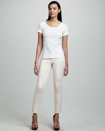 Isabel Cigarette Ankle Pants