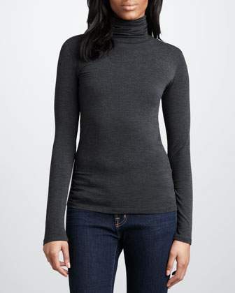 nm luxury essentials slim turtleneck available in white anthracite ...
