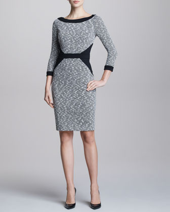 Tweed Contour Dress