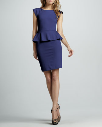 Victoria Peplum Dress