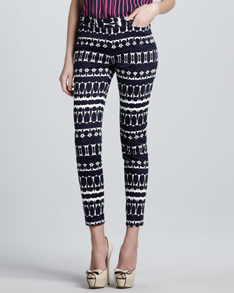 Pop Art Printed Pants