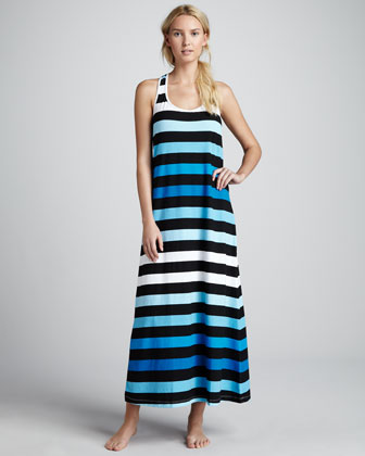 Bermuda Striped Maxi Dress