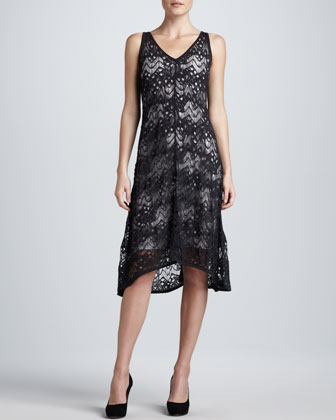 Crinkle Lace Dress