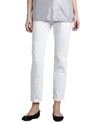 Skinny Organic-Cotton Ankle Jeans
