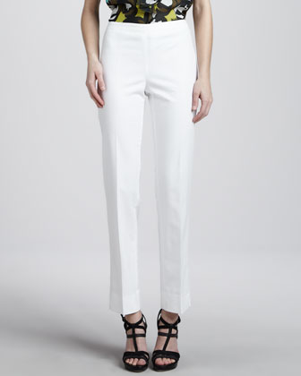 Bleecker Pants, White