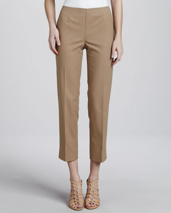 Cropped Bleecker Pants, Chai