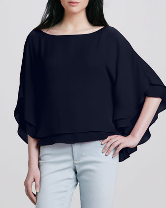 Hampton Layered Loose Blouse