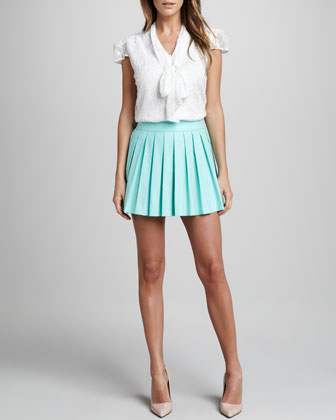 Leah Pleated Skirt