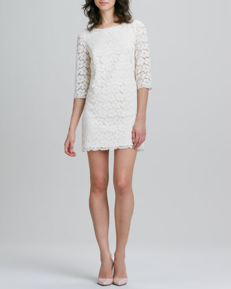 Constance Lace Shift Dress