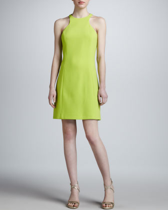 Athletic A-Line Dress, Acid