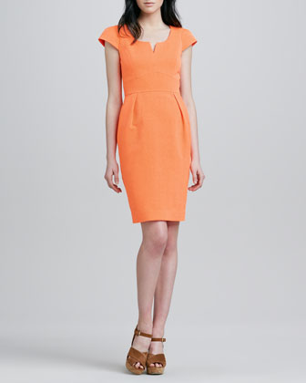 Evan Jacquard Dress