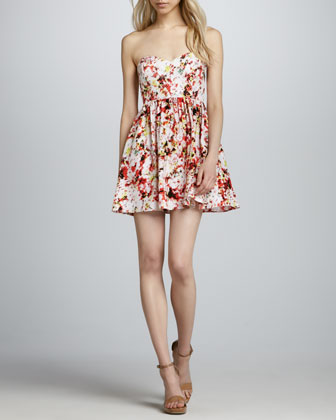 Jenna Strapless Dress