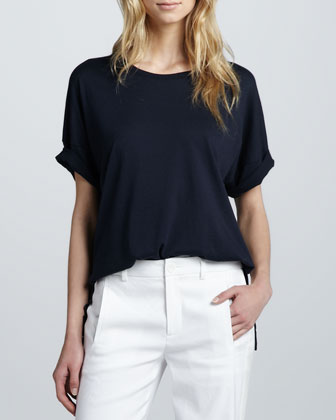 Loose Drop-Shoulder Tee