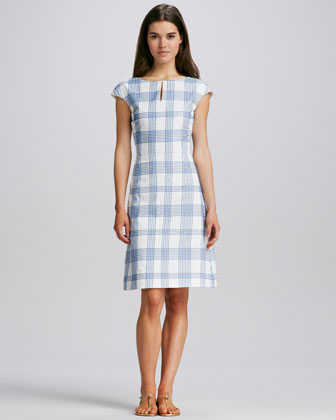 Kenny Printed Cotton Dress