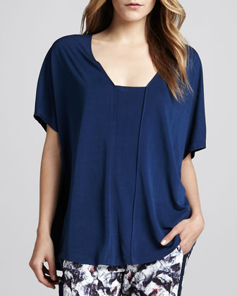 Oversized Pieced Top