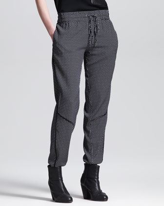 Gina Printed Drawstring Pants