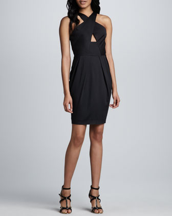 Nico Cross-Neck Dress
