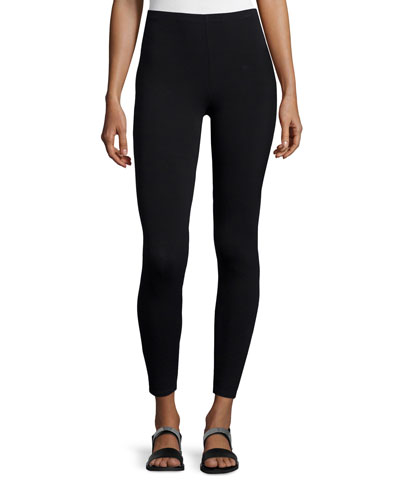 Viscose Jersey Leggings, Plus Size