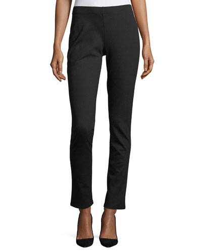 Slim Ponte Pants, Plus Size