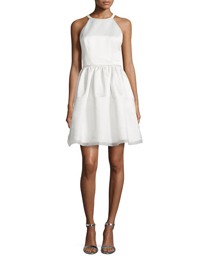 Savannah Duchess Satin Cocktail Dress