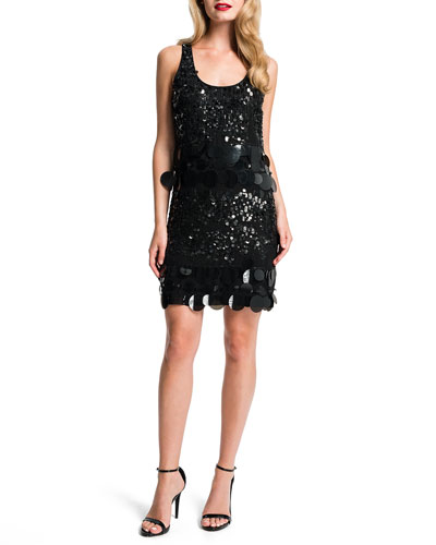 Marta Sequined Racerback Dress