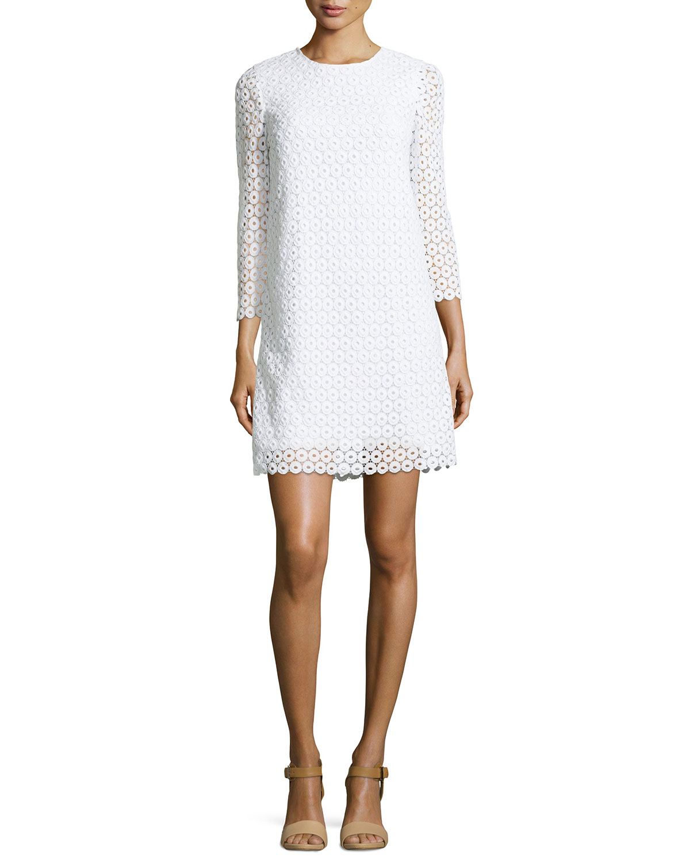 ashby guipure lace dress