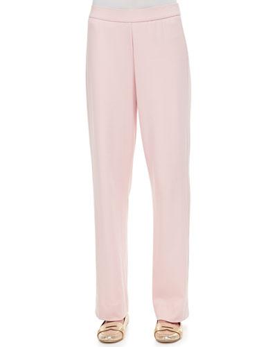 Cotton Interlock Pants, Petite