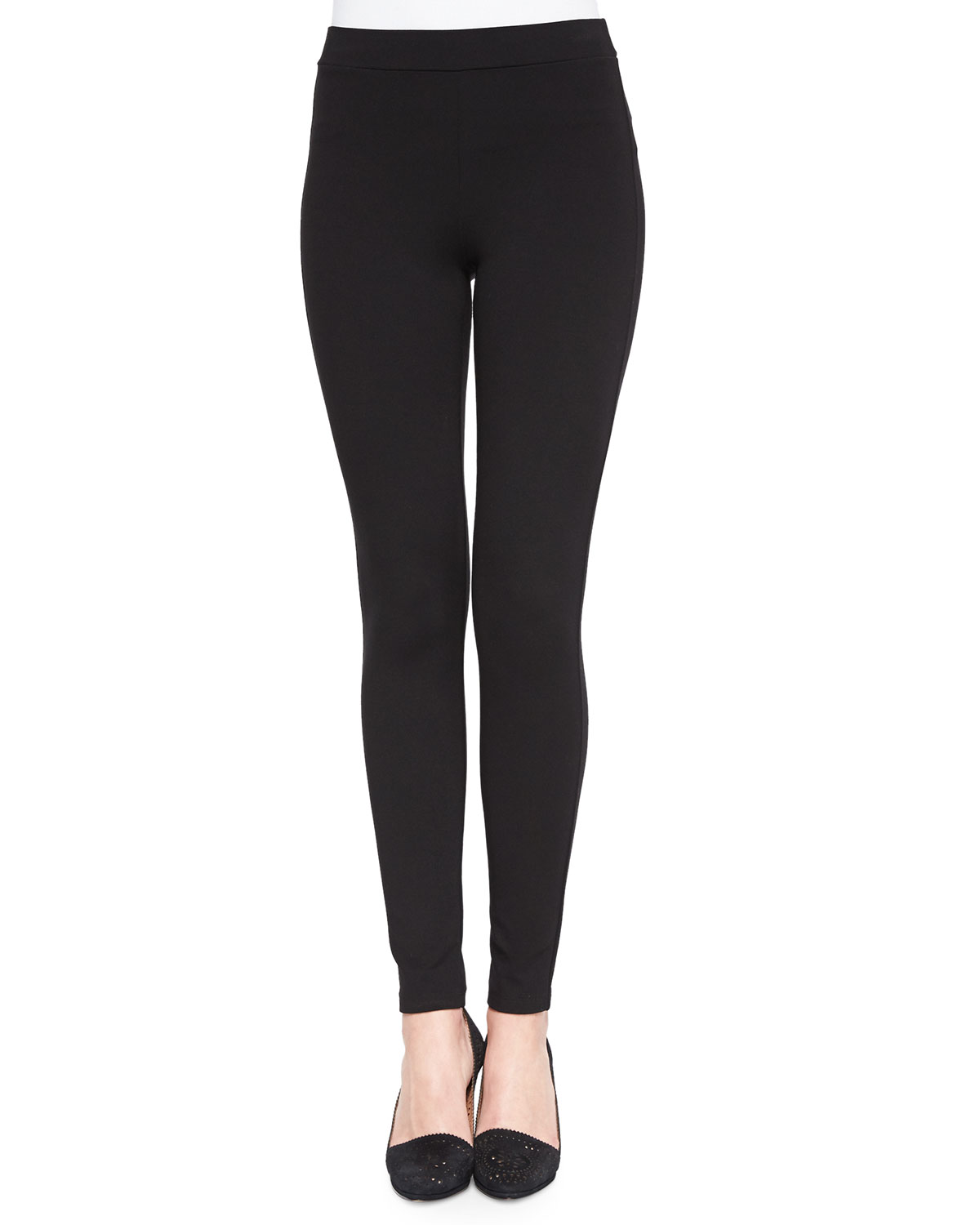Shawn Pull-On Stretch Leggings