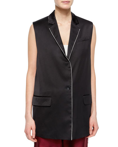 Donnie Long Button-Front Vest
