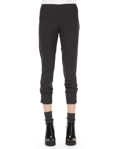 Lightweight Stretch Cotton Pants