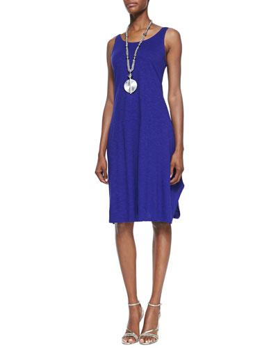 Organic Cotton/Hemp Twist Sleeveless Dress, Plus Size