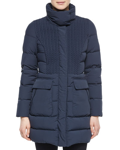 Deneb Cable-Front Car Coat