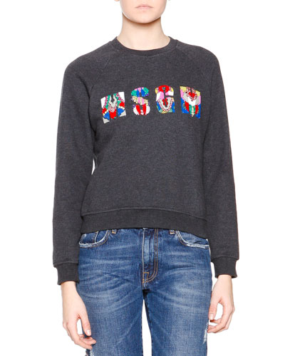 MSGM Logo-Center Sweater