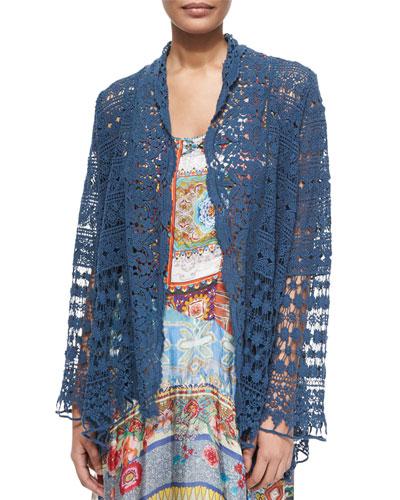 Short Crochet Jacket