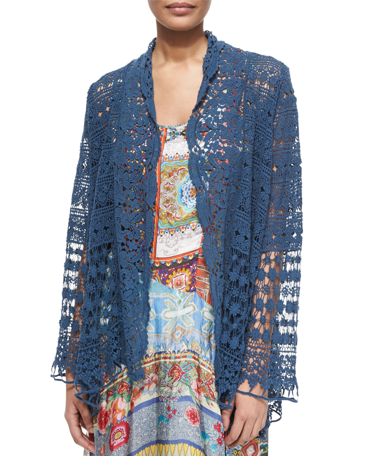 CLSSC SHORT CROCHET JACKET