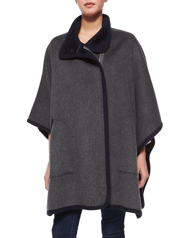Kenzie Double-Face Wool Coat