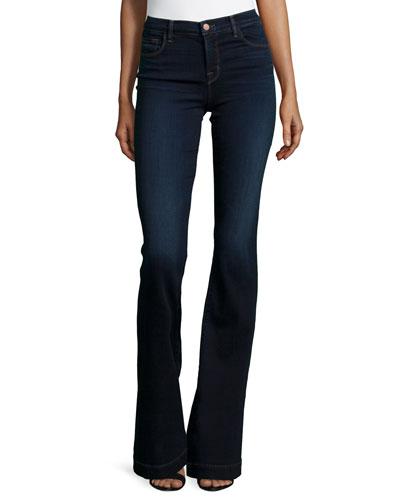 Maria High-Waist Flare Jeans, Embrace